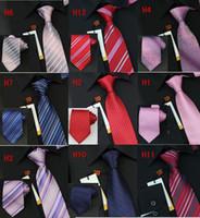 Wholesale Good Quality Korean Silk Pure Color Stripes Dots Mixed Style Neck Ties Men Fashion Suit Tie D1