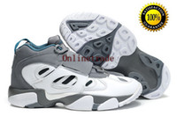 Wholesale Famous Trainers Air Diamond Turf Men s Sports Basketball Shoes white wolf grey
