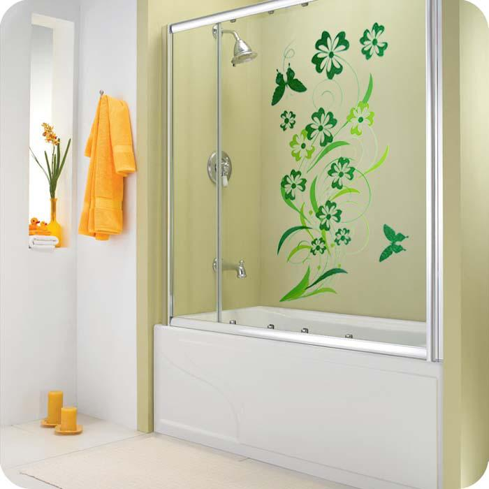 Wall decor bathroom my web value for Bathroom decor green walls