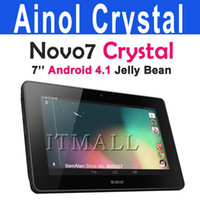 Wholesale Ainol Crystal NOVO inch Android Jelly Bean Tablet PC Ghz IPS HDMI Update ELF Dual Core