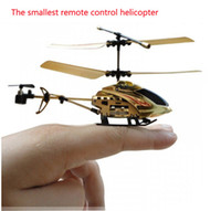 Wholesale The World s Smallest Nano RC Helicopter CH R C Remote Controlled Mini Helicopter with Alloy Body