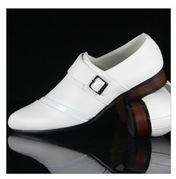 Wholesale Designer new white leather dress shoes men s casual shoes groom wedding shoes liqinghui2011