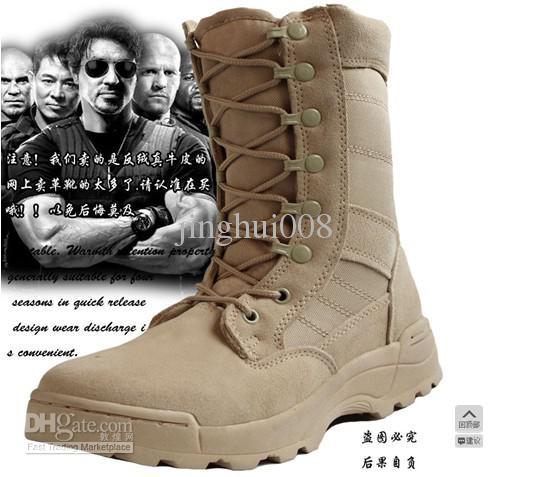 Tactical Boot Short Boots Male Mountain Climbing Boots Dermal ...