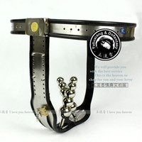 Female Chastiy Belt  Wholesale Female Adjustable Model-T Stainless Steel Chastity Belt Anal plug locks SM sexy