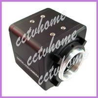 Mini 600TVL CMOS de seguridad Video Box DC CS Cámara de montaje CCTV