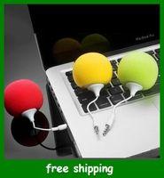 Wholesale Popular Mini speaker Audio Dock for MP3 MP4 phone pc mm audio jack Christmas Gifts