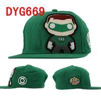 dc caps - DC Comics Green Lantern Funko Snapbacks Adjustable Sport Cap Mix Order High Quality Hellosport86