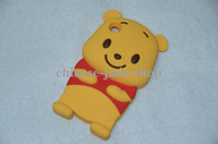 For Apple iPhone winnie the pooh s4 - Bear Winnie The Pooh Case Cover for IPHONE GS Iphone S Iphone Touch Touch S2 I9100 S3 I9300 S4 I9500 Ace s5830 Y s5360