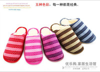 Wholesale Warm cotton tow goose bottom anti skid wear slippers household maomao shoes