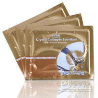 Wholesale 2012 Fashion Crystal Collagen Eye Skin Mask Patch Anti wrinkle moisture Eye Care Products