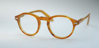 Wholesale MILTZEN Retro Vintage s slim Blonde eyewear