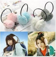 Wholesale Warm Ear muffs Winter Ear covers Cute fluffy hairband type Unisex Ear Protection Hot selling