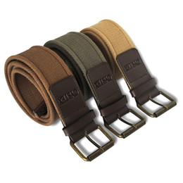 Wholesale Best Quality Pole Button Belt Cotton Canvas Belts Woven Length Fit Waist Circle cm