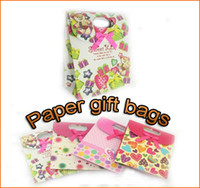 Wholesale Christmas Environmental Paper gift Bag Wedding Favor Party Birthday Boxes x12 cm styles