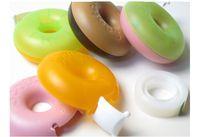 Wholesale Donuts Scotch Tape Cutter Snail Wheel Tape Machine Plastic Head