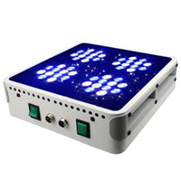 Wholesale 2pcs W W Led aquarium light salty Led reef coral tank light White Blue High Power DHL