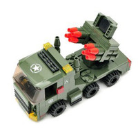 Wholesale Military model Assembly blocks accessories Missile launch vehicles Military war vehicles