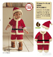 Wholesale Christmas dress gift winter clothes hats Children s Outfits amp Sets cute baby girl clothes