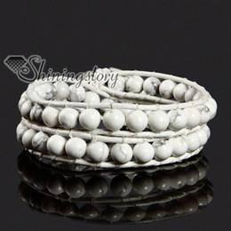 gemstone bead bracelets wrap bracelets bracelet with leather