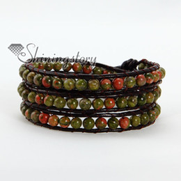 handmade beaded bracelets leather wrapped bracelets leather bracelet men