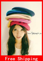 Wholesale New Arrival Wool Beret Fashion Women Wool French Berets Newsboy Hat Cap Headgear