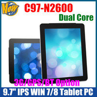 Wholesale 9 inch Intel N2600 Dual Core G RAM G SSD GHz Windows Tablet PC WiFi HDMI Dual Camera UMPC