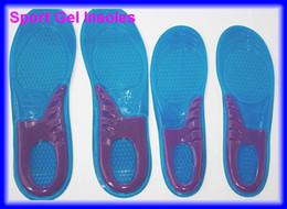 Wholesale pairs sport silicone massaging gel shoes insole men size women
