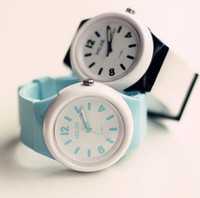 Wholesale Lovely Jelly Watch Big Dial Students Watch Female Watch Small Pure And Fresh Honey Watch