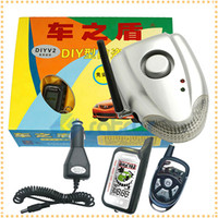 car security system - Two Way Car Alarm System No Installation DIY Auto Security System with db Wireless Alarm Siren