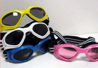 Wholesale 55pcs LEEAO FedEx Fast Ship Pet Dog Fashion Goggles UV Sunglasses Eye Glasses Wear Protection