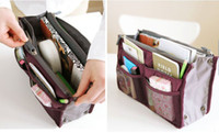 Wholesale purse insert organizer organize bag Travel Insert Handbag organizer for purse