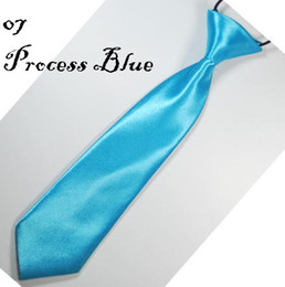 boys' ties kids' Neck Tie baby tie neck ties solid color ascot 20 colors 200pcs lot