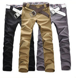 Wholesale Fashion Men s Stylish Designed Straight Slim Fit Trousers Casual Long Pants Size M L XL XXL