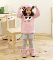Wholesale Just arrival hoodies coats kid s hooded colors greatcoats girl s surcoats SH2935F