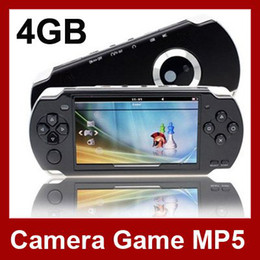 Wholesale 4 Inch PMP Handheld Game Player With GB MP3 MP5 Video FM Camera TV OUT Portable Game Console Mult