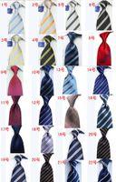 Wholesale 15pcs Handmade Korean Silk Tatting Flower Stripes Men Fashion Silk Tie Business Suit Dress Neck Ties