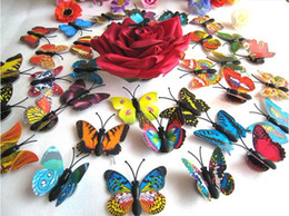 Butterfly Fridge magnets party decoration Colorful Three-dimensional Simulation Butterfly