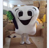 Teeth tooth Mascot Cartoon Mascot Costume Fancy Dress Hot Sa...