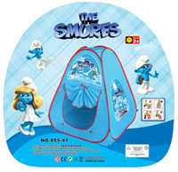 Wholesale Lovely Cartoon Play Tent For Kids children toys toyTent Pop Up Tents