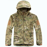 acu coat - TAD V Outdoor Hunting Camping Waterproof Coats Jacket Hoodie For Men Black Green Khaki ACU CP