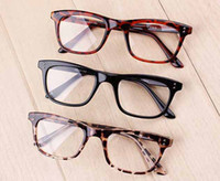 Wholesale Good Wayfarer Fashion Gglass Frames Retro Glasses Frames With No Power Lens