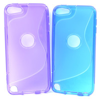 S Line Soft TPU Gel Case Cover Clear Silicone pour Ipod Touch 5ème 6 5 Gen