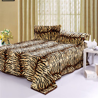 Wholesale Tiger print Flannel blanket Super Soft Baby bed sheet blankets x200cm TV Air conditioning blanket