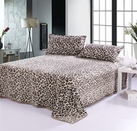 Wholesale HOT SALE Flannel Leopard blanket bedding Soft Baby bedsheet blankets x200cm TV Air conditioning blanket flat sheet