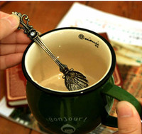 Wholesale Europe And The United States Palace Retro Gold And Silver Coffee Spoon Ice Cream Small Spoons