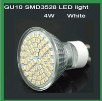 Wholesale 4W GU10 SMD with LEDS cool white spot light led bulb lamp use in indoor V