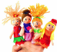 Stuffed riding toys - Childrens Finger Toys Mermaid Even Little Red Riding Hood Is Even Cartoon Doll Toys