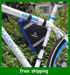 Wholesale Popular Bicycle Bike Bag Front Frame Head Pipe Triangle Bags Pouch Waterproof PVC Gift