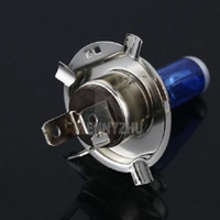 Wholesale 2Pcs H4 Car Halogen Xenon Low Beam V W White Light Bulbs K Auto Lamp