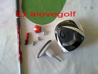 Wholesale New cc golf driver or degree golf clubs free ship AAA quality
